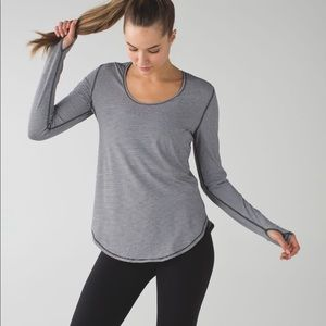 Lululemon Yogini 5 Year Long Sleeve Tee Sz 6 LL